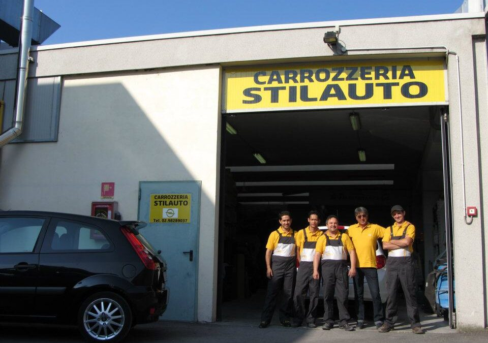 Il Team della Carrozzeria Stilauto